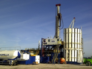 Shale gas drilling rig. Source: Cuadrilla Resources