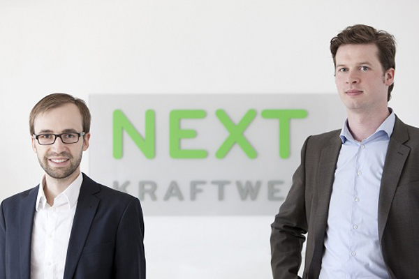 Co-founders of Naext Kraftwerke Hendrik Sämisch (left) and Jochen Schwill (right)